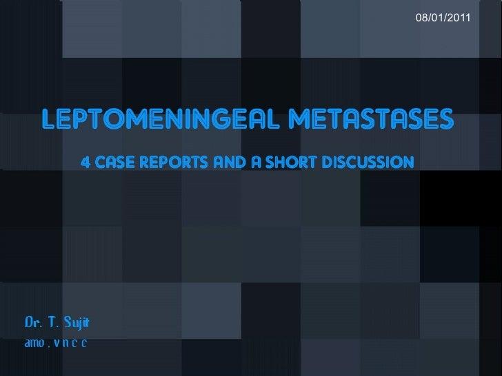 Leptomeningeal Metastases