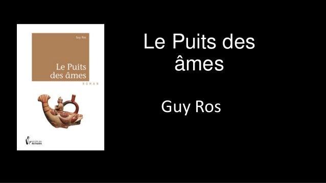 Le Puits des âmes Guy Ros