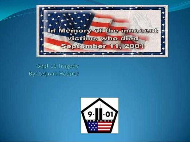 Lequan hooper sept 11 tragedy