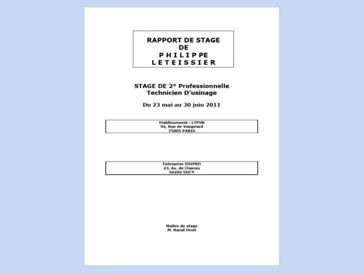 Rapport de stage 2 for Comment faire du home staging