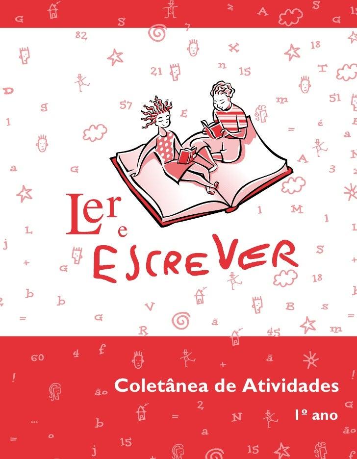 Ler e escrever   coletânea de atividades 1º ano