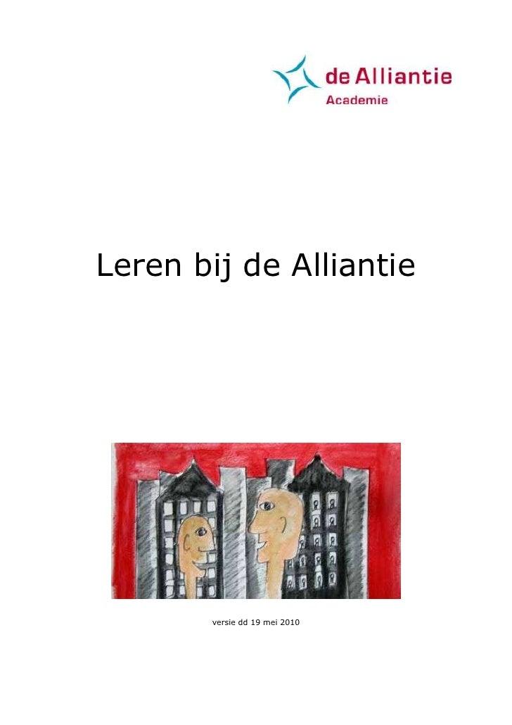 Leren Bij De Alliantie 1.21.Doc