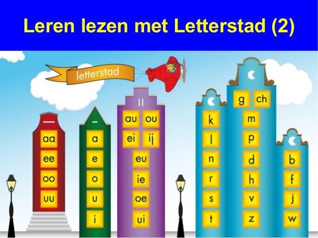 Leren lezen met letterstad deel 2 soorten letters 130131