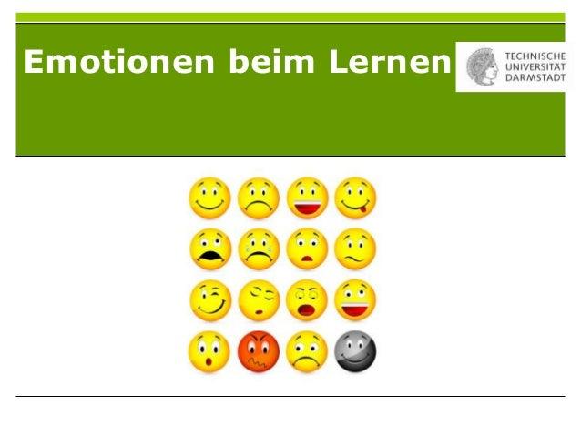 Emotionen beim Lernen