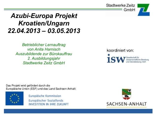 koordiniert von:  Das Projekt wird gefördert durch die Europäische Union (ESF) und das Land Sachsen-Anhalt: