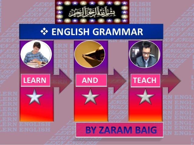  ENGLISH GRAMMARLEARN AND TEACH