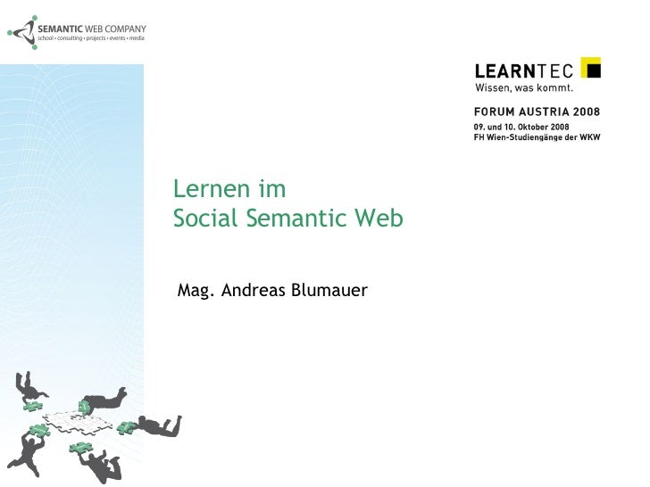 Lernen im  Social Semantic Web Mag. Andreas Blumauer