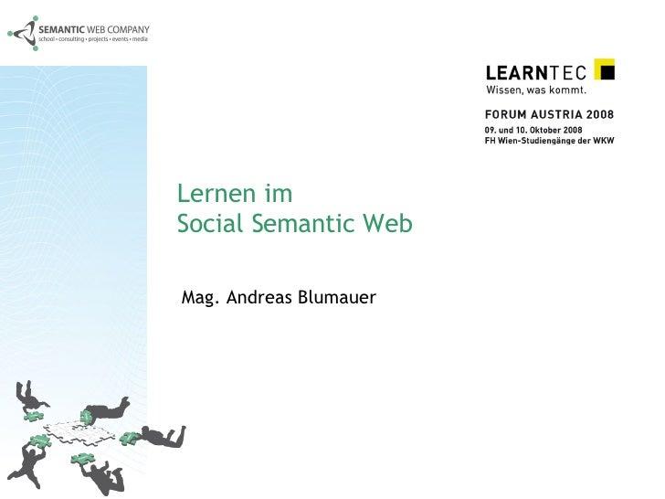 Lernen Im Social Semantic Web