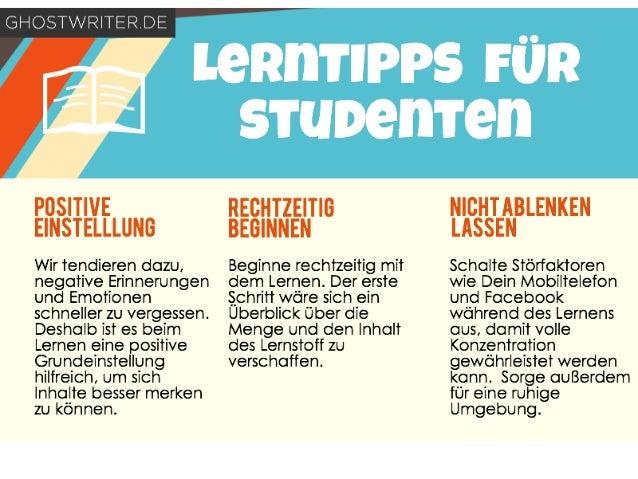 Lerntipps für Studenten