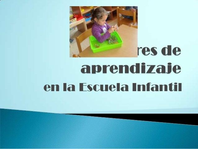en la Escuela Infantil