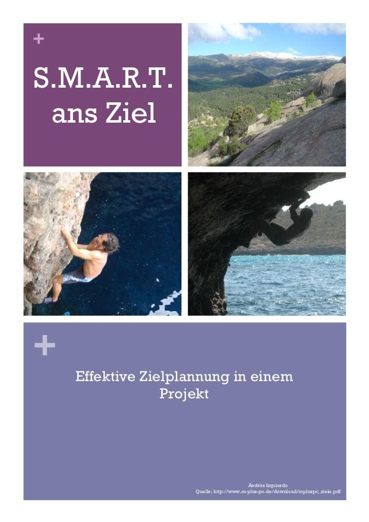 +S.M.A.R.T. ans Ziel+    Effektive Zielplannung in einem                 Projekt                                          ...