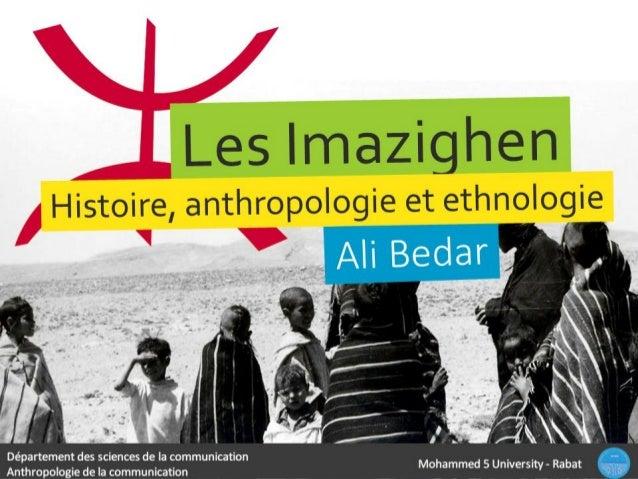Mohammed 5 University - Rabat Département des sciences de la communication Anthropologie de la communication