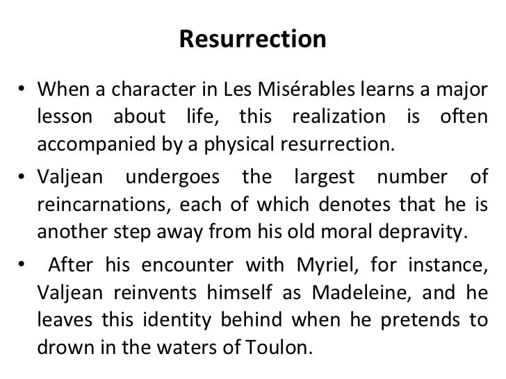 thesis statement for les miserables Starting an essay on victor hugo's les misérables organize your thoughts and  more at  build out your thesis and paragraphs vanquish the dreaded blank.