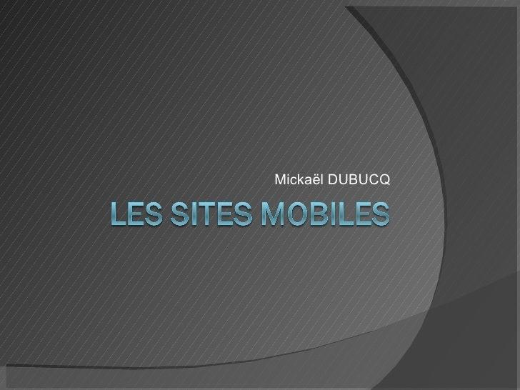 Les Sites Mobiles
