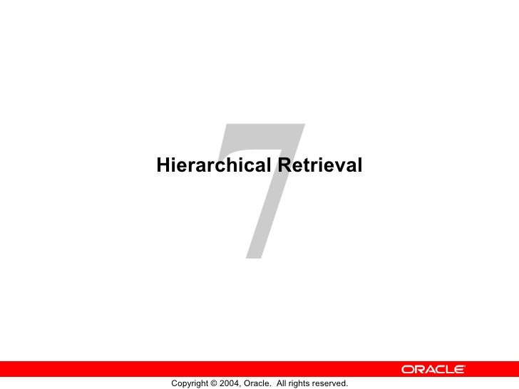 Hierarchical Retrieval