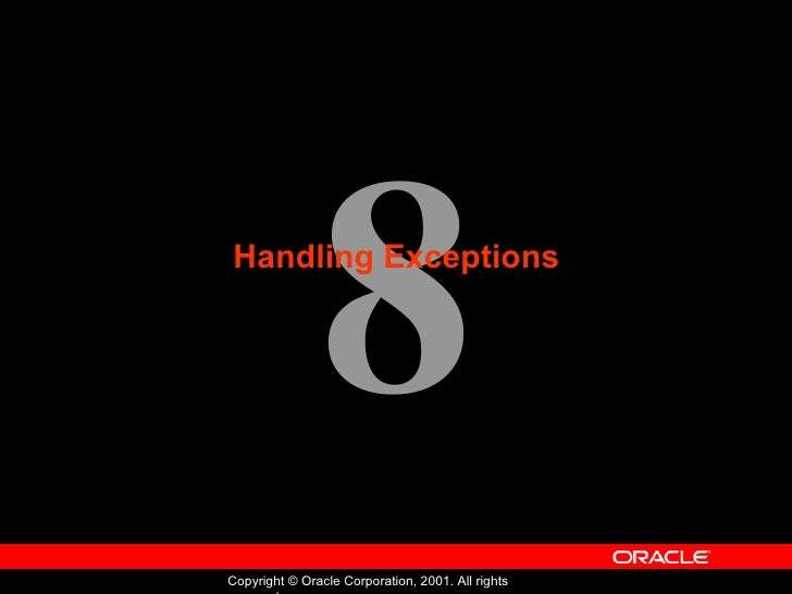 Oracle - Program with PL/SQL - Lession 08