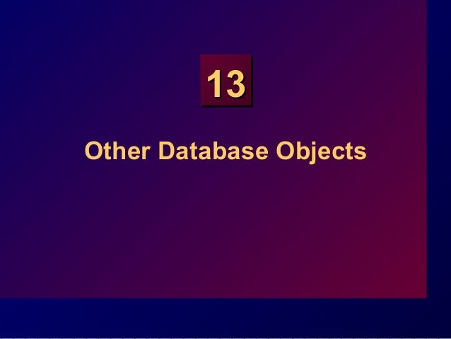 SQL WORKSHOP::Lecture 13