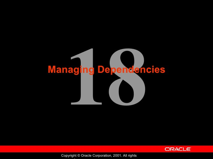 Oracle - Program with PL/SQL - Lession 18