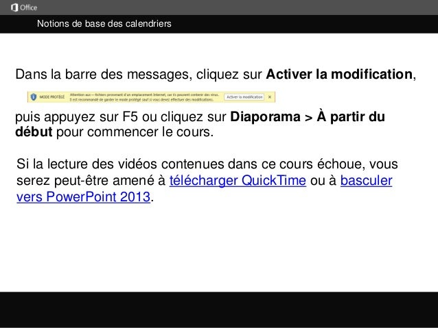 Utilisation de MS OUTLOOK