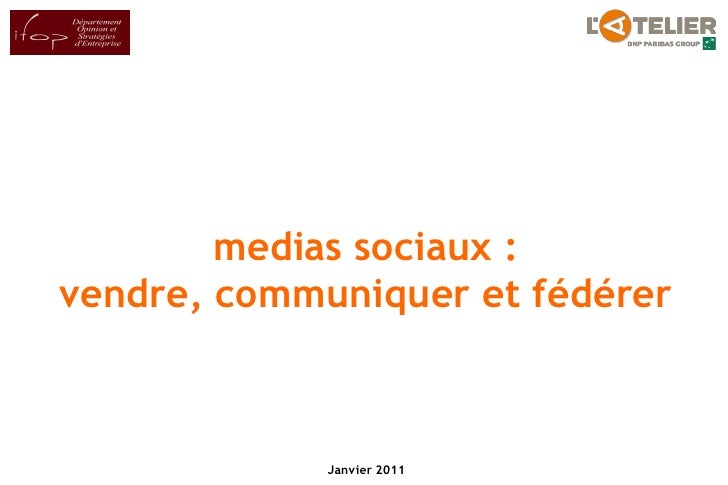 Les cadres français et les réseaux sociaux