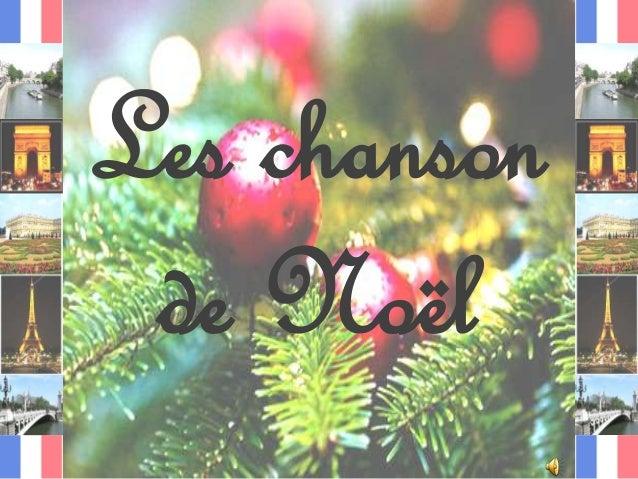 Les chanson de Noël