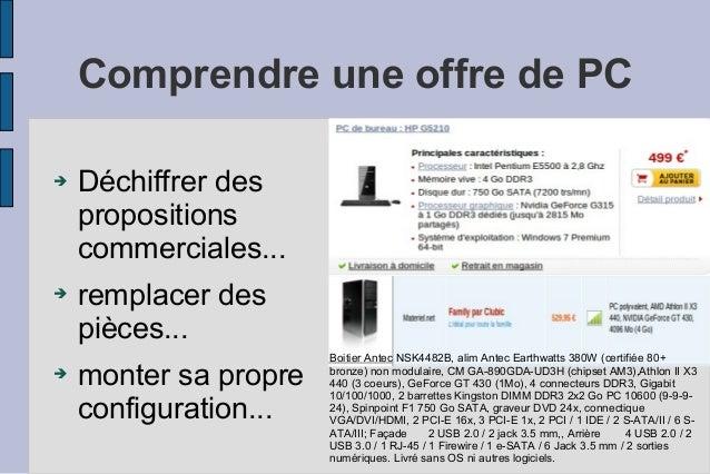 Les composants de l 39 ordinateur - Interieur d un ordinateur ...