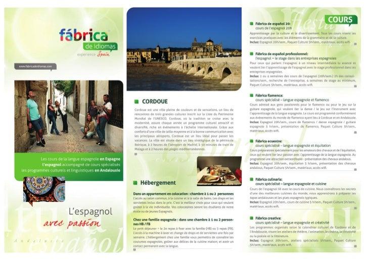 Les cours de la langue espagnole en Espagne