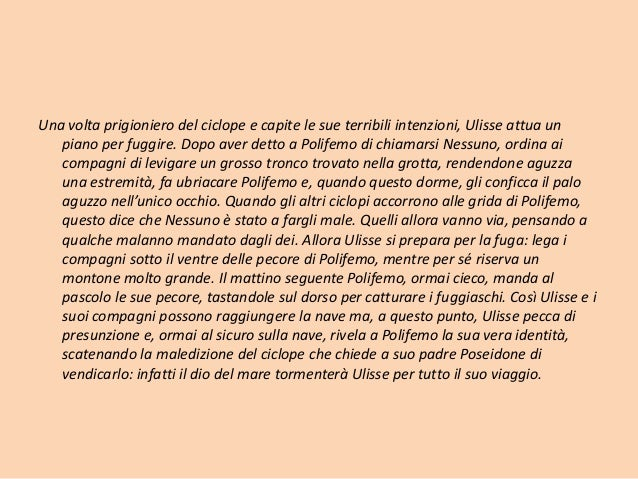 Cesare Pavese ulisse commento