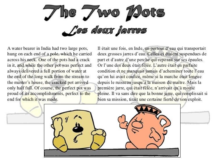 Les deux jarres - the two pots