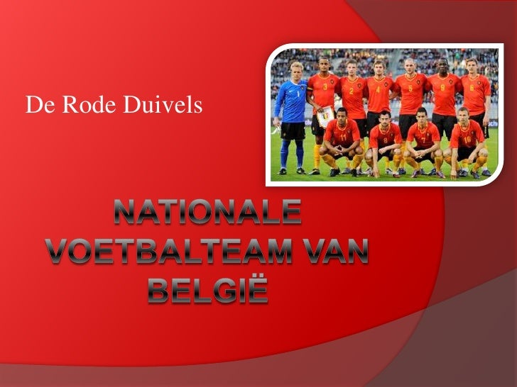 Rode Duivels - Red Devils Belgium