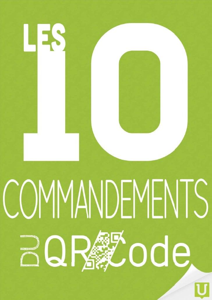 Les dix commandements du QR Code