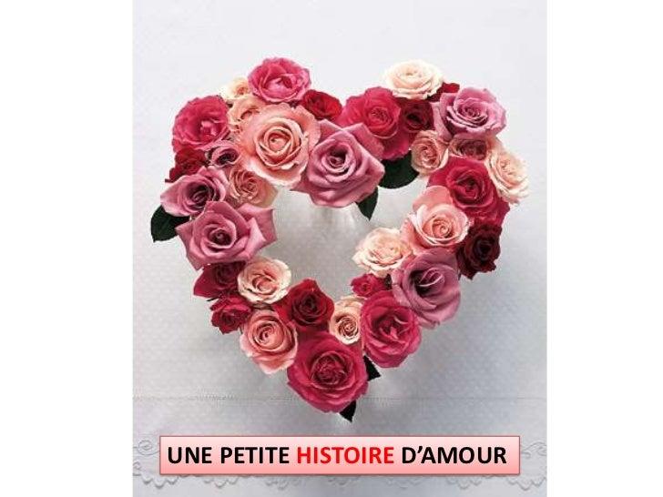 UNE PETITE HISTOIRE D'AMOUR