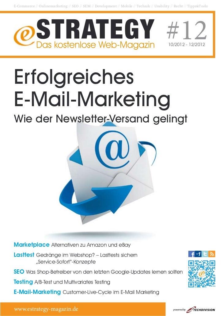 E-Commerce // Onlinemarketing // SEO // SEM // Development // Mobile // Technik // Usability // Recht // Tipps&Tools      ...