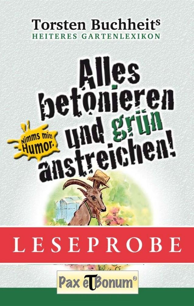 """Leseprobe Buch: """"Alles betonieren und grün anstreichen"""" bei Pax et Bonum Verlag Berlin"""