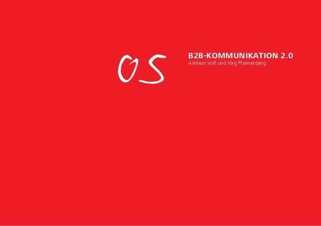05 B2B-Kommunikation 2.0 Andreas Voß und Jörg Pfannenberg