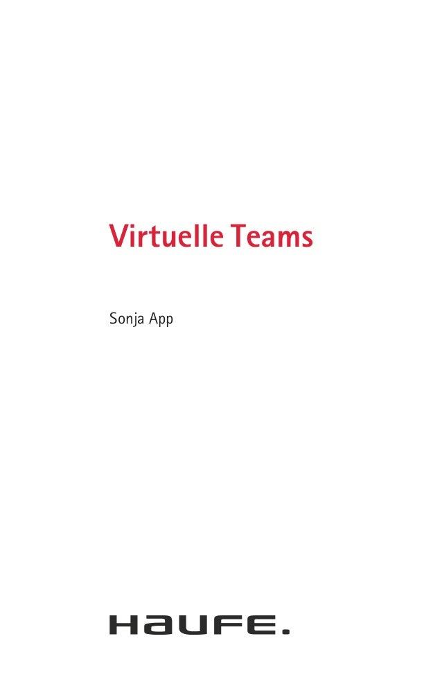 Virtuelle TeamsSonja App