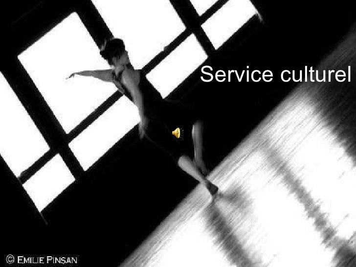 Service culturel