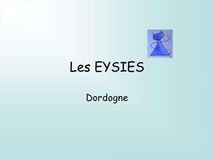 Les EYSIES  Dordogne