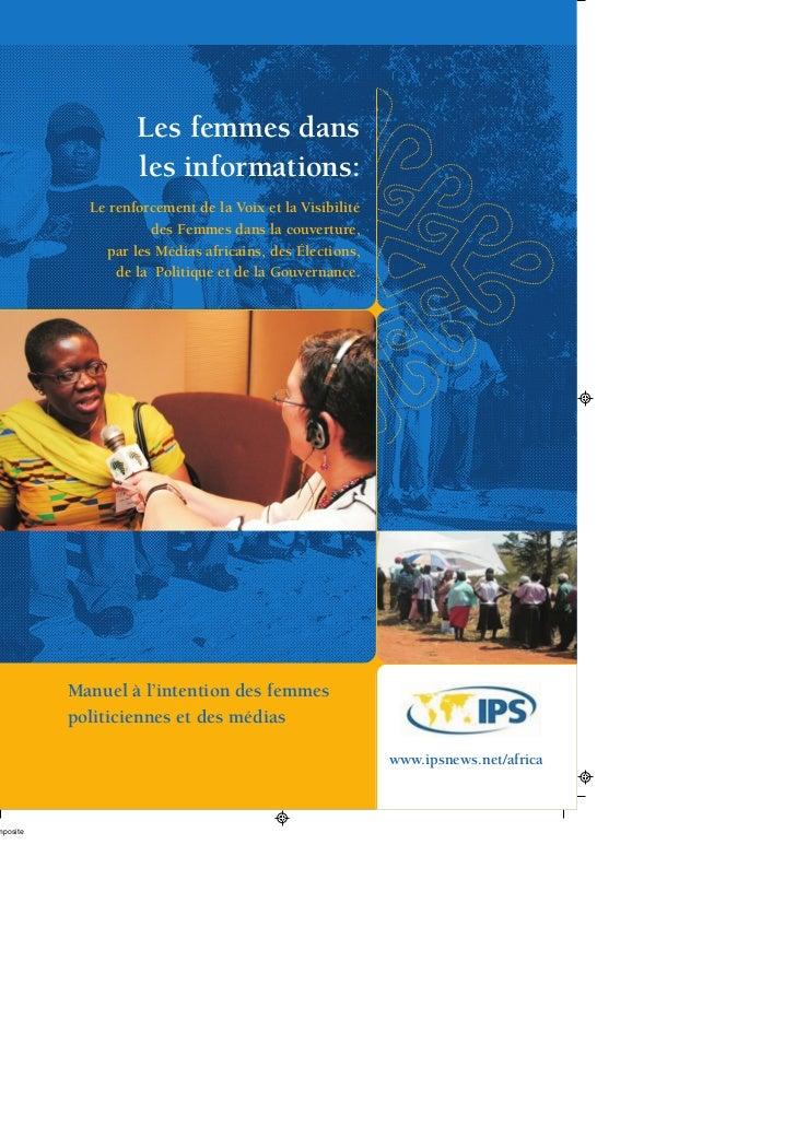 Les femmes dans les informations - IPSNEWS