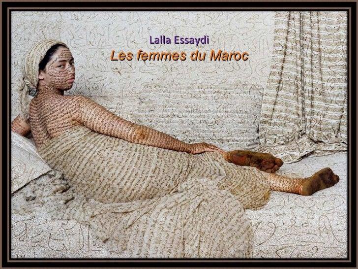 Les femmes du Maroc-Lalla Essaydi