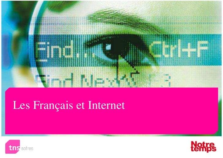 Les Français et Internet