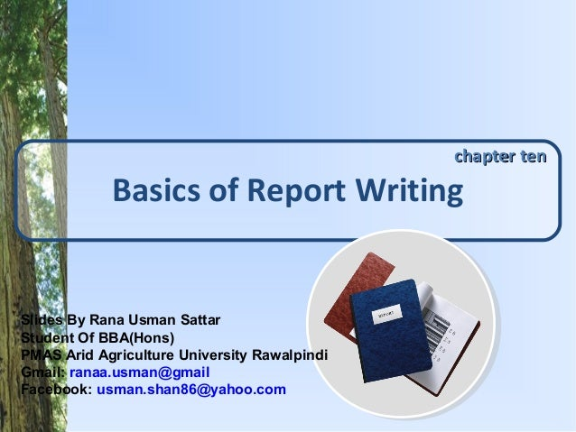 Lesikar   report writing basics