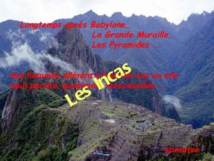 Les incas(dp)