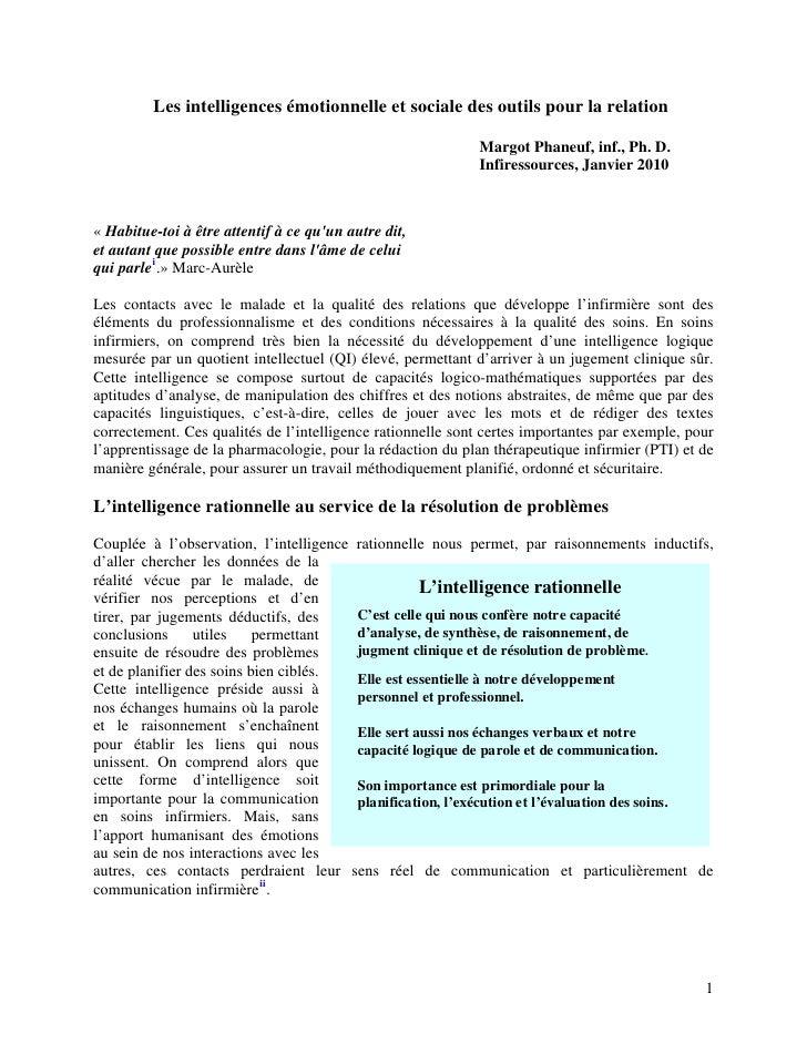 Les intelligences emotionnelle_et_sociale_des_outils_pour_la_relation