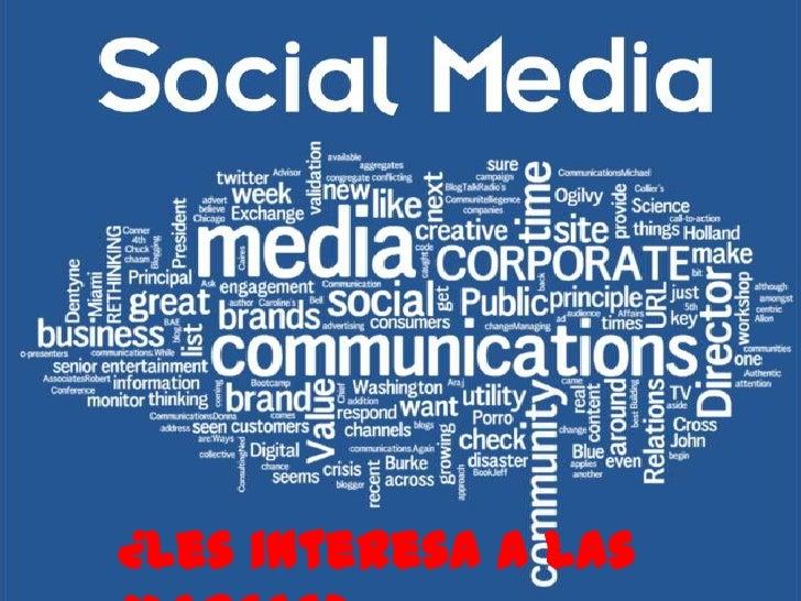 ¿Les interesa a las marcas eso del Social Media?