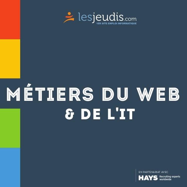 métiers du web & de l'it  EN PARTENARIAT AVEC