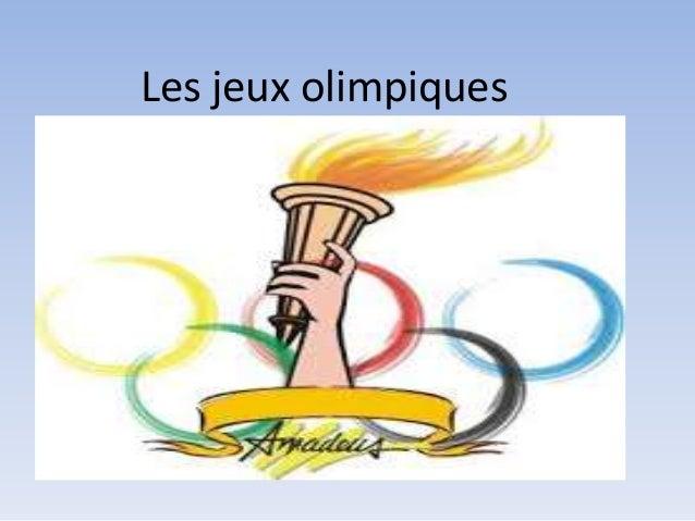 Les jeux olimpiques