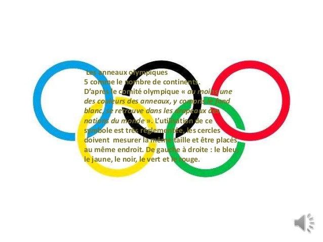 Les jeux olympiques - Anneau des jeux olympique ...