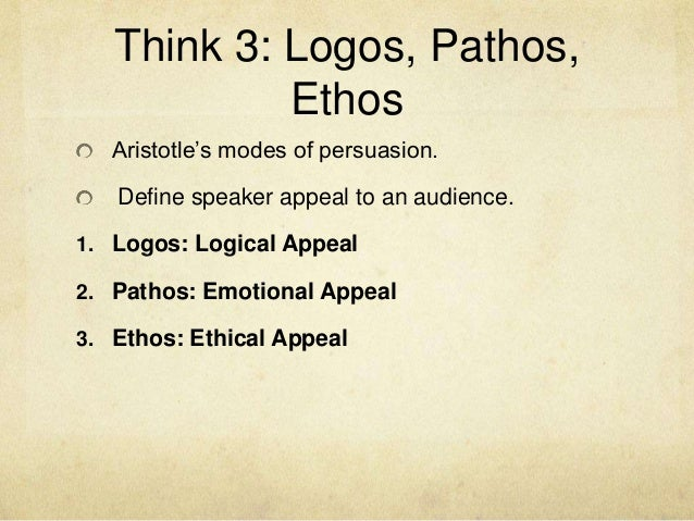 ethos - definition - YouTube