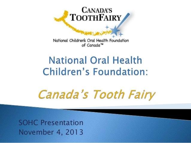 Leslie   canada's tooth fairy
